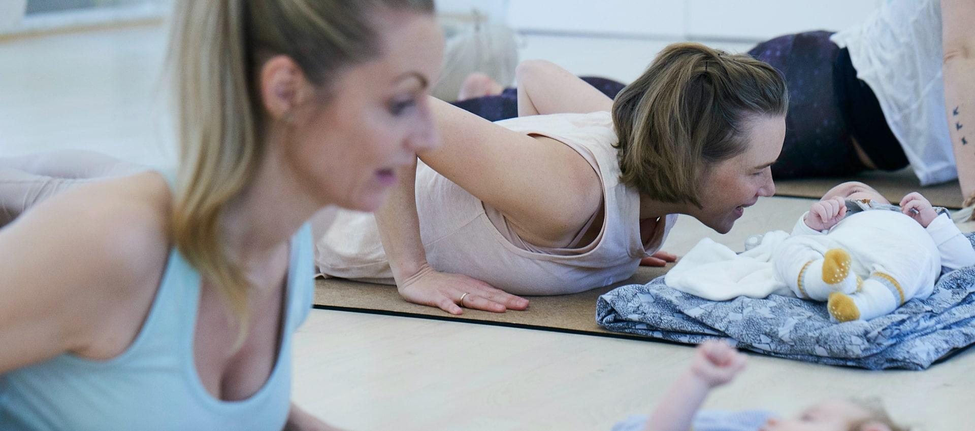 YoJo yoga efter foedslen